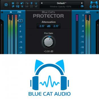 Blue Cat Protector