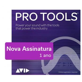 Pro Tools - Nueva suscripción - 1 año