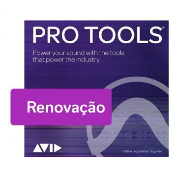 Pro Tools - Renovação de Assinatura - 1 ano
