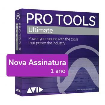 Pro Tools Ultimate - Nueva suscripción - Licença de 1 año