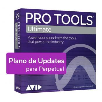 Pro Tools - Ultimate - Renovación de Plano de Updates para Licencia Perpétua