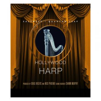 Hollywood Solo Harp Gold EDU