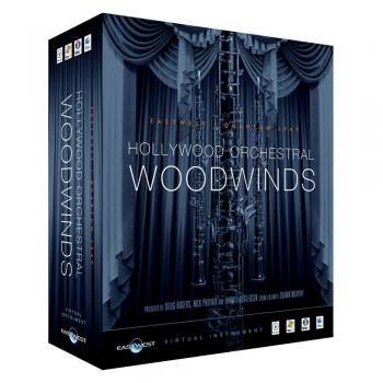 Hollywood Orchestral Woodwinds Gold EDU