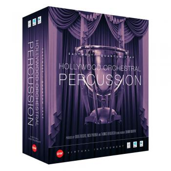 Hollywood Orchestral Percussion Gold EDU