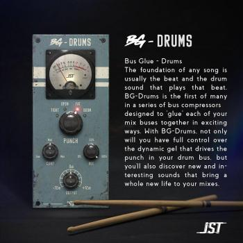 JST Bus Glue Drums