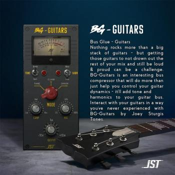 JST Bus Glue Guitars