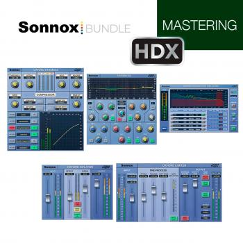 Bundle Sonnox Mastering HD-HDX